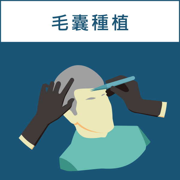 FUT植髮手術過程(毛囊種植)