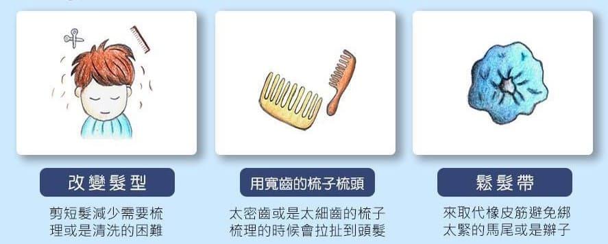 產後掉髮(落髮)的治療方式