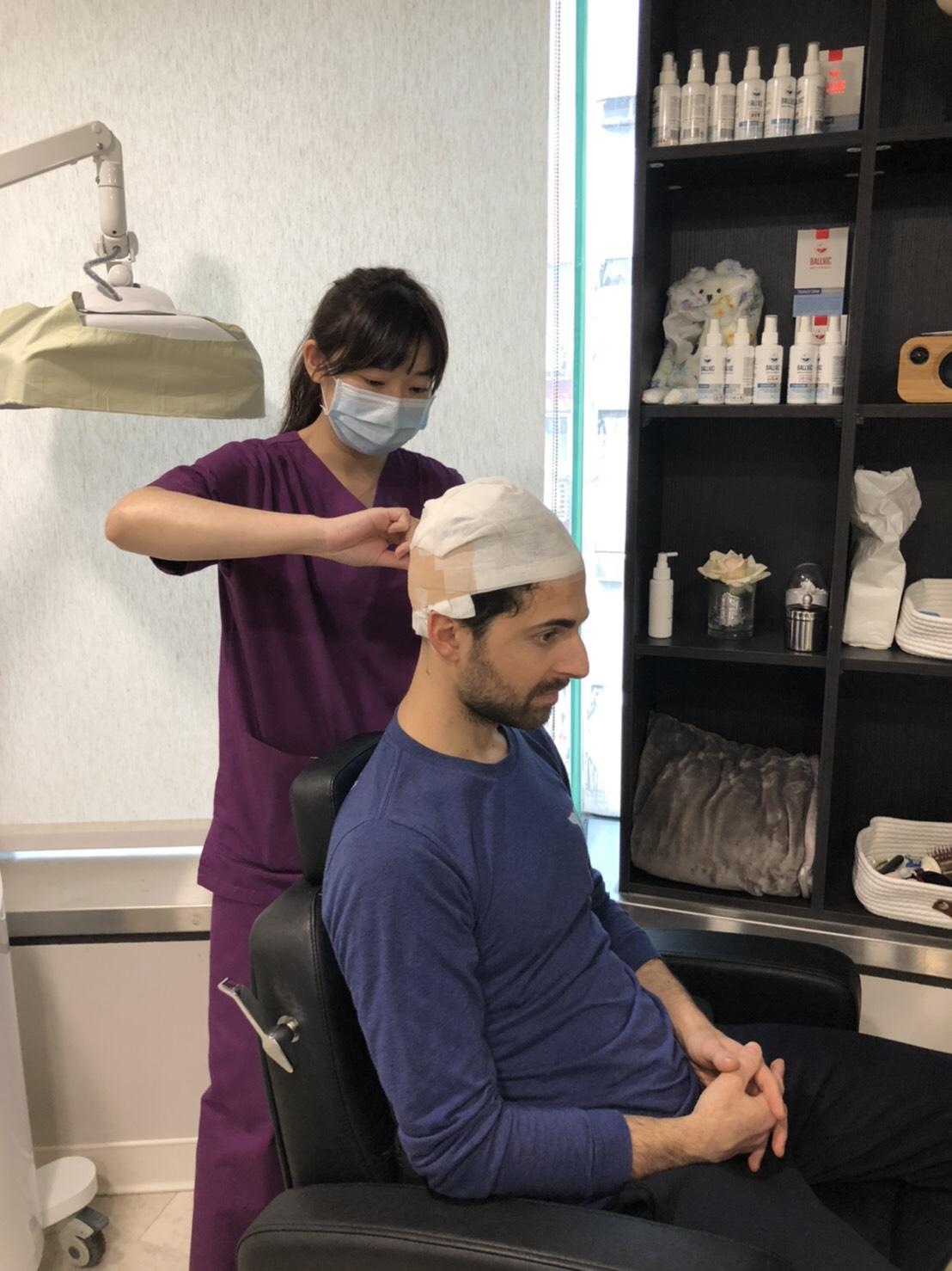 植髮手術|謝宗廷醫師|術後護理