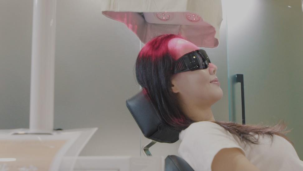 掉髮治療:育髮雷射