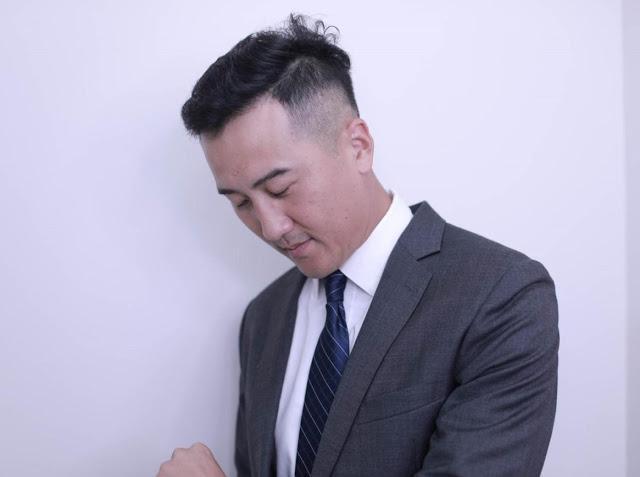 M型禿植髮術後頭髮造型