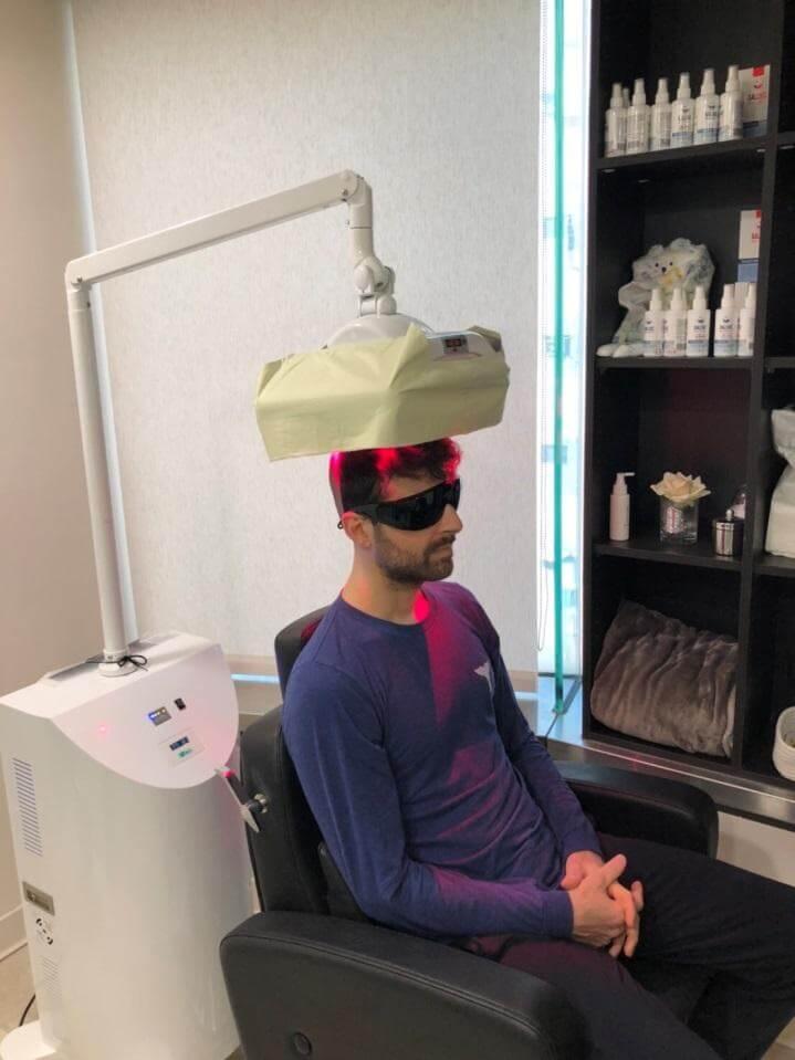 雄性禿治療方法:低能量雷射
